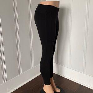 LOFT Pants - Loft Ann Taylor Black Ponte Leggings S